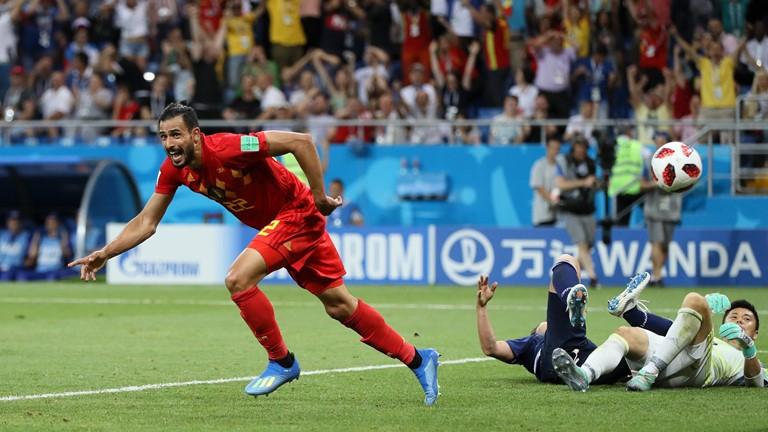 Белгија се врати од два гола негатива и се пласира меѓу осумте најдобри на Светското првенство