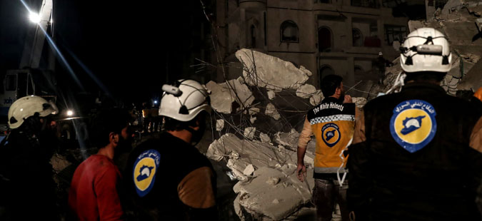 Израел ги евакуираше сириските Бели шлемови во Јордан