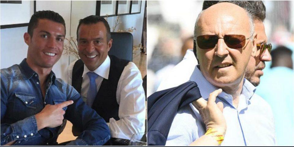 Јувентус подготвен да ги задоволи барањата на Роналдо: Агентот Мендеш денеска во Торино на преговори со Марота