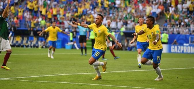 Бразил преку Мексико во четвртфинале