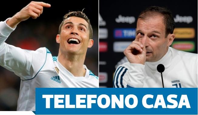 Шпанските медиуми сигурни за трансферот: Роналдо имал телефонски разговор со Алегри