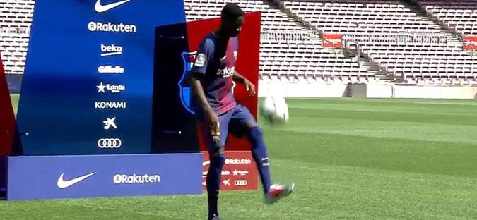 Барселона не се откажува од Дембеле