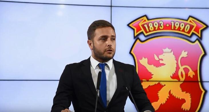 """Арсовски: """"Криминални иновации"""" е најголемиот скандал по криминалната приватизација за делење на народни пари на олигарсите и функционери на СДСМ"""