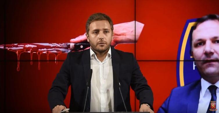 Арсовски: Владината коалиција со криминалот ќе ја плаќаат граѓаните со сопствените животи, Спасовски мора уште веднаш да си поднесе оставка