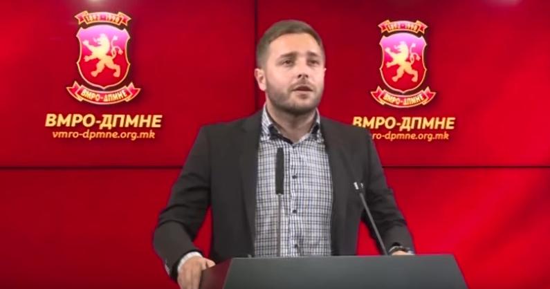 Арсовски: СДСМ прославува бришење на името Република Македонија, бришењето на македонската историја, традиција и култура