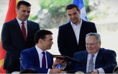 """""""Нема дилема ВМРО-ДПМНЕ останува против договорот со Грција"""""""