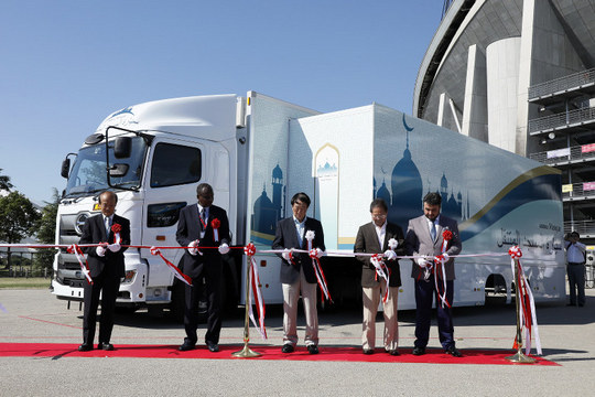 Претставена мобилна џамија за Олимписките игри во Токио