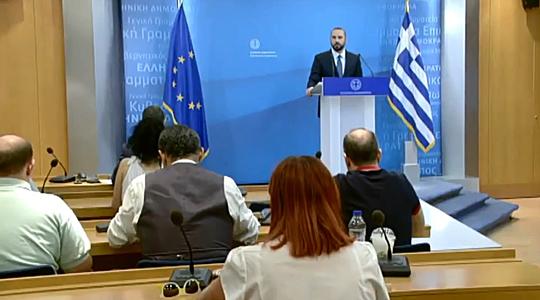 Грчката Влада ќе го разгледа барањето на Каменос за гласање на договорот кога ќе дојде време