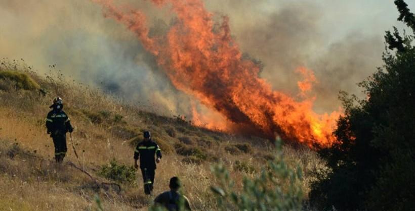Крит се уште гори- пожарот делумно под контрола