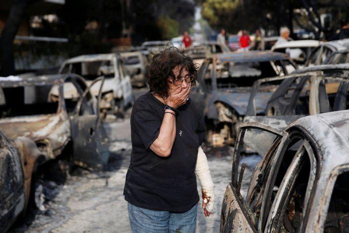 Црниот биланс не престанува да расте: 92 жртви во пожарите во Атика