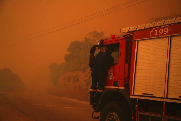 ГРЦИЈА ГОРИ: Во изминатите 24 часа регистрирани 58 пожари, денеска избувнаа три нови
