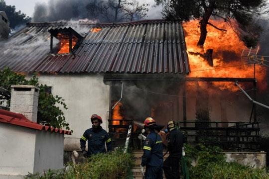 Расте црниот биланс: Пронајдени 26 јагленосани тела по пожарите во Грција, меѓу нив и деца