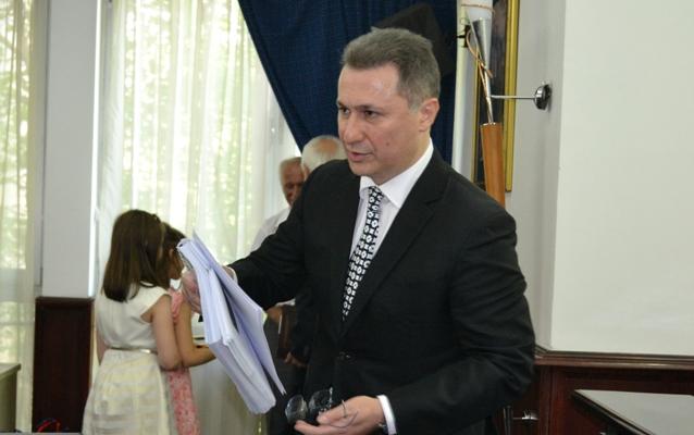 Груевски денеска докторираше на економскиот факултет во Скопје