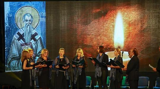 """Гостување на камерниот хор """"Херувими"""" во Унгарија"""