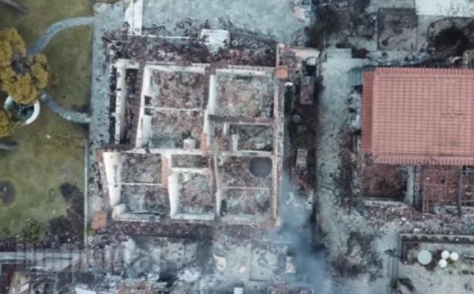 Видео од куќата на хоророт во Грција: Тука изгореа до смрт 26 лица, меѓу нив имаше и деца!