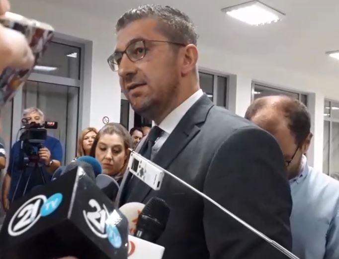 ВМРО-ДПМНЕ ја напушти лидерската средба: Власта се однесува непродуктивно и девијантно