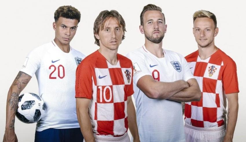 Овие играчи ќе истрчаат вечерва на теренот во полуфиналниот натпревар меѓу Хрватска и Англија