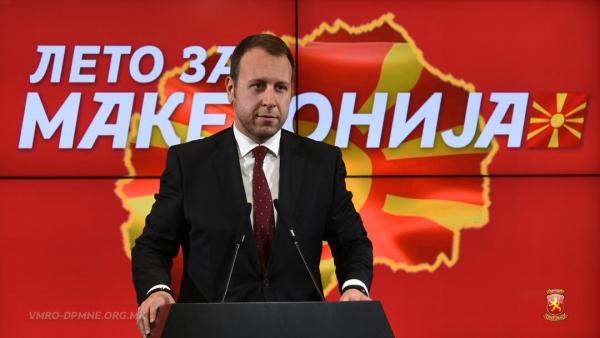 Јанушев до СДСМ: Нема да ви помогнат патковите со криминалните подземја, ниту рекетираните пари кои ги спремате за поткуп, само ќе продолжете да тонете