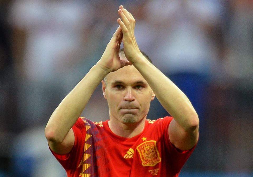 """Легендата го одигра последниот натпревар: Иниеста и кажа """"збогум"""" на репрезентацијата"""