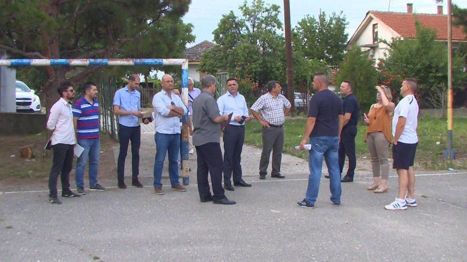 Градоначалникот на Кавадарци Митко Јанчев  се сретна со жителите на селата Сопот, Марена и Глишиќ