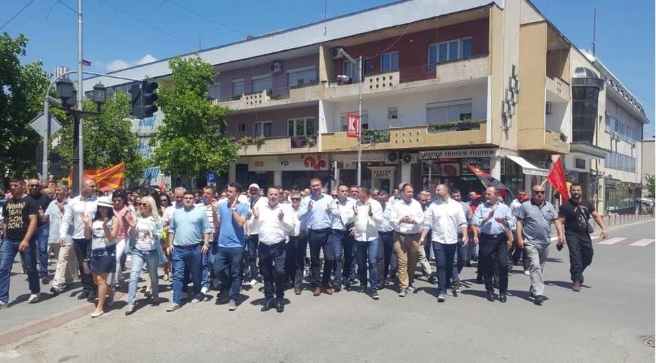 Мицкоски: ВМРО-ДПМНЕ дури и кога е во опозиција работи повеќе од властa, доказ за тоа е Јанчев кој создава во Кавадарци