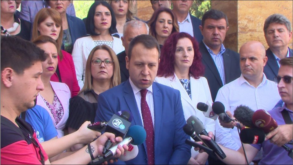 Пратеничката група на ВМРО-ДПМНЕ не присуствува на денешната седница: Нема да бидеме соучесници во капитулацијата- со Договорот се деградираат македонските граѓани