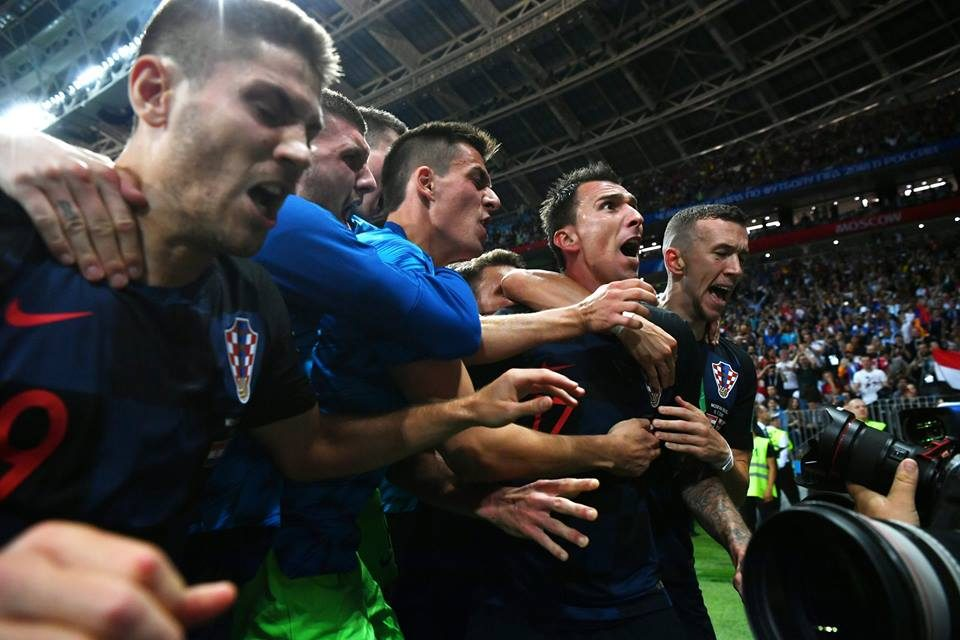 Хрватите четири натпревари играа во црни дресови, моќна приказна се крие зад ова