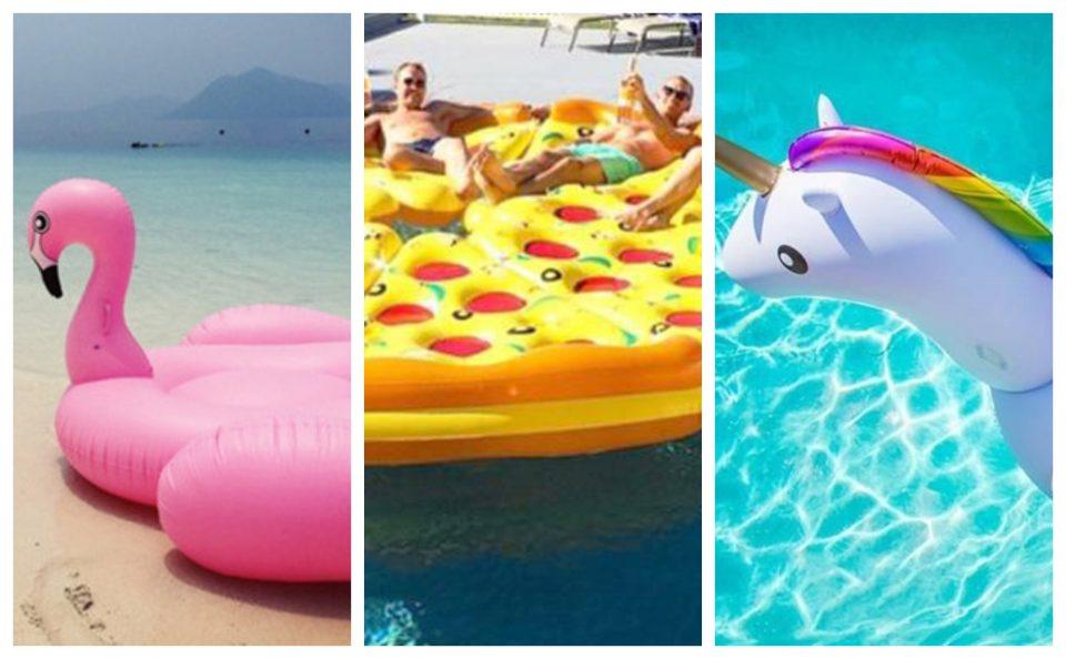 ФОТО: По фламингото, пицата и еднорогот, нов бизарен тренд пристигнува на плажите