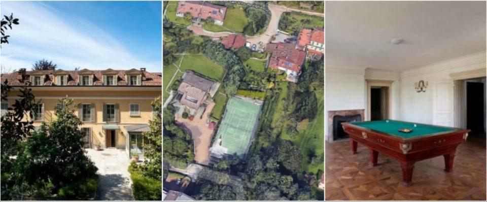 Роналдо ја избра куќата во Торино: Ќе живее во вилата каде порано живееле Зидан и Канаваро (ФОТО ГАЛЕРИЈА)