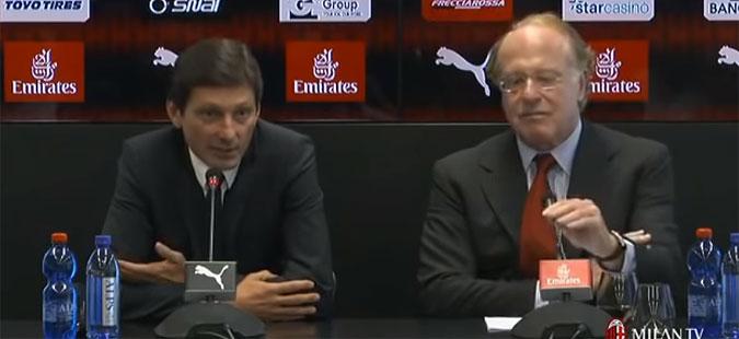 Леонардо демантираше дека Конте ќе го преземе Милан