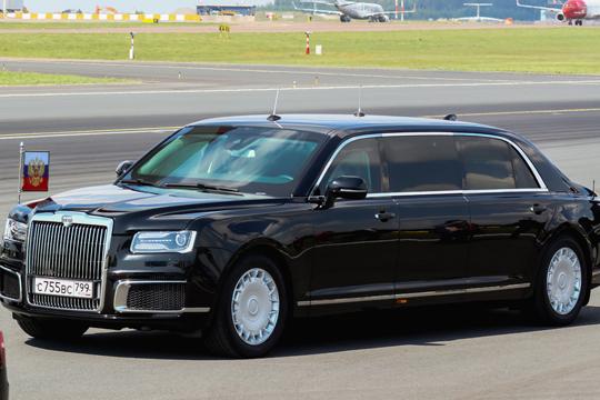 Во Хелсинки пристигнаа двете најмоќни претседателски лимузини