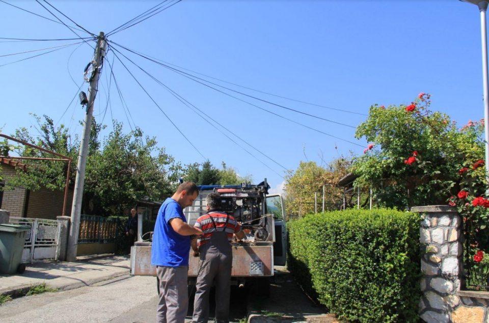 Целосна обнова на осветлувањето во населба Лисиче