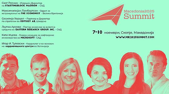 Седмиот самит на Македонија 2025 од 7 до 10 ноември