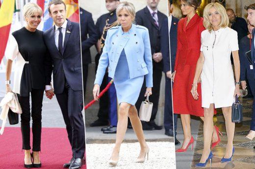 Во вакво издание ретко се гледа: Првата дама на Франција се соблече во костим за капење (ФОТО)