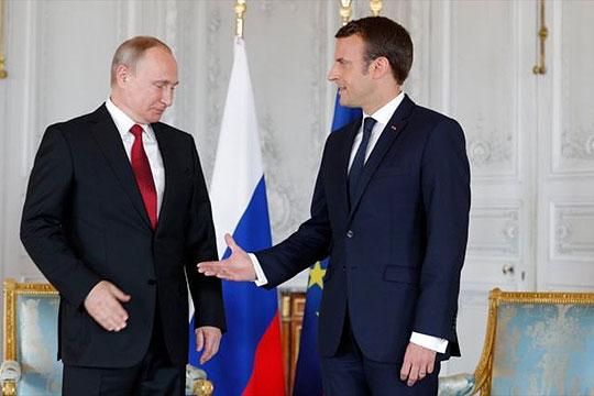 Макрон ќе се сретне со Путин за време на финалето на СП во Москва