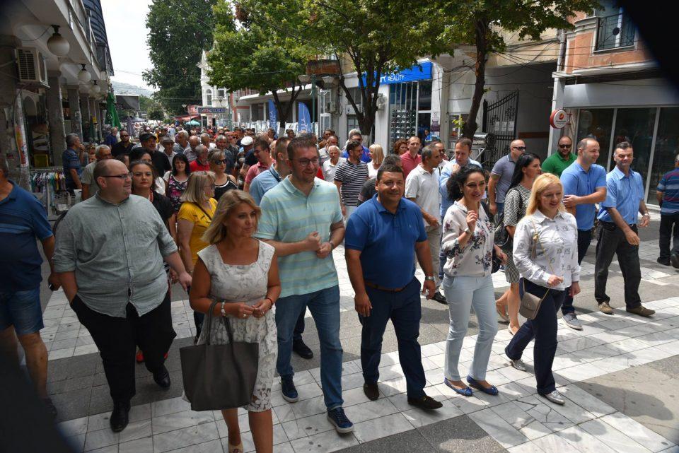 Мицкоски: Ќе продолжиме со протестните маршеви, на 2-ри септември во Кичево