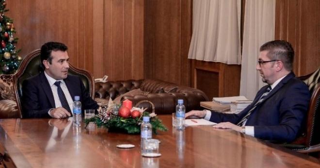 Заев нудел широка влада и амнестија за политичките случаи само ВМРО-ДПМНЕ да го поддржи договорот со Грција, Мицкоски одлучно одбил?