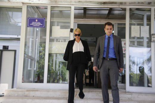 Наташа Беквалац го напушти судењето со Лука: На вратата се свртела и поставила само едно прашање