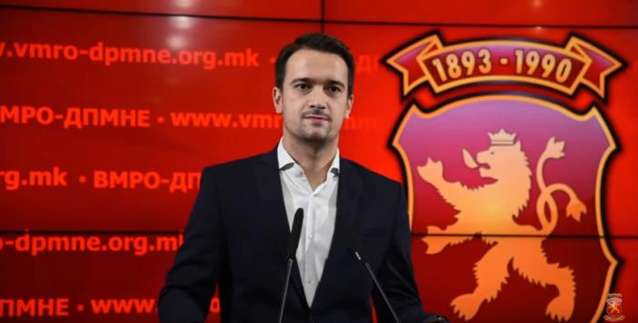 Нелоски: ВМРО-ДПМНЕ е секогаш спремно за избори, СДСМ мора да замине