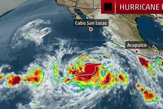 Нов ураган Фабио се формирал крај брегот на Мексико