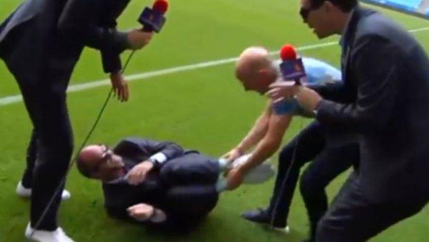 Цел свет се мајтапи со Нејмар: Новинар ја емитираше повредата на фудбалерот, а тоа што го направи потоа ќе ве насмее до солзи (ВИДЕО)