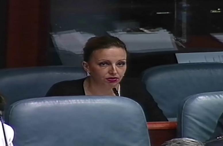 Пешевска: За СДСМ парламентарната демократија важи само кога тие се во опозиција