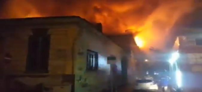 Изгоре Царската коњушарница во Софија
