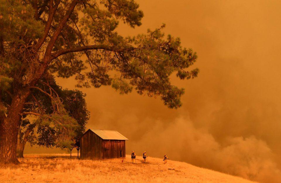 Големи пожари беснеат во западниот дел на САД