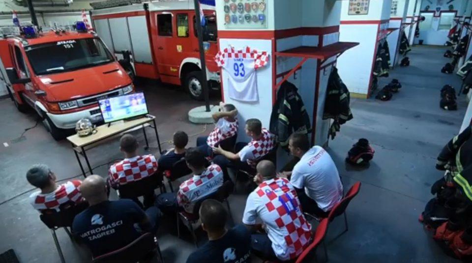 Целиот свет се воодушевува- хрватските пожарникари добија повик во решавачката минута, а нивната реакција ќе ве остави без текст (ВИДЕО)