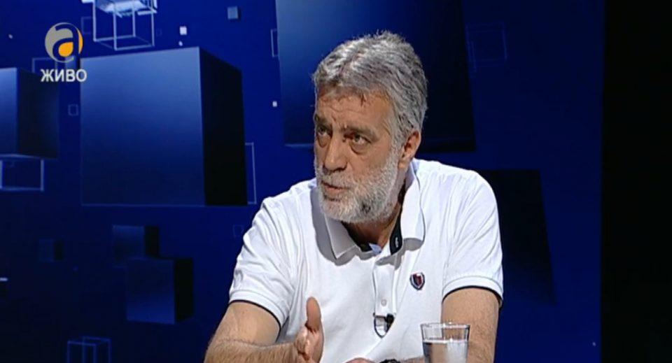 Димитровски: Однесувањето на Талат Џафери е класичен пример за однесување во заробена држава