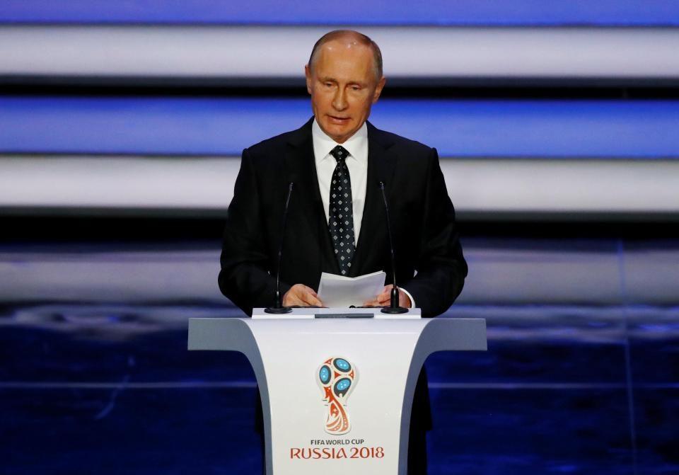 Путин: Нашите играчи се херои