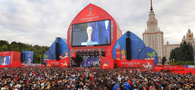 Повеќе од три милиони странски туристи ја посетиле Русија за време на Светското првенство