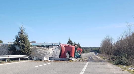 Детали за сообраќајната незгода на патот Крива Паланка- Куманово
