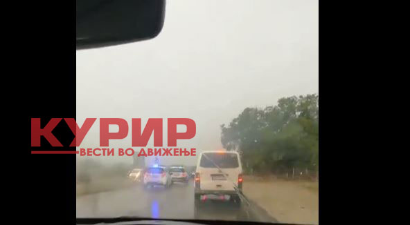 ФОТО: Судир на три возила пред Охрид